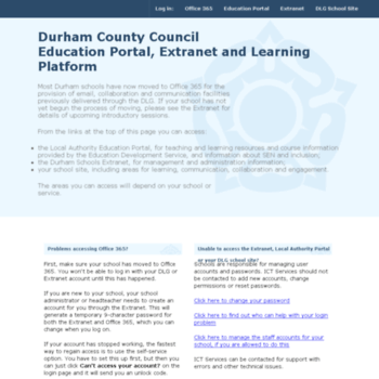 Durhamschools.org.uk thumbnail