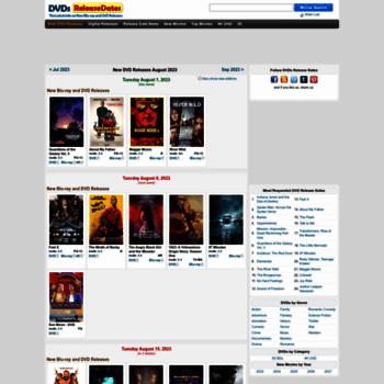 dvdsreleasedates com at WI  DVDs Release Dates - Latest Info