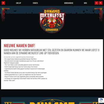 Dynamo-metalfest.nl thumbnail