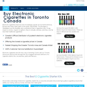 E-cigarettetoronto.ca thumbnail