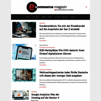 E-commerce-magazin.de thumbnail