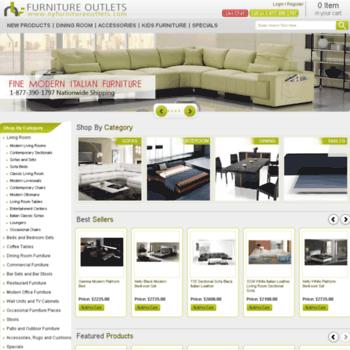 E-modernfurniture.com thumbnail