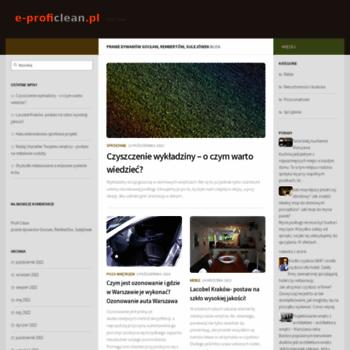 E-proficlean.pl thumbnail