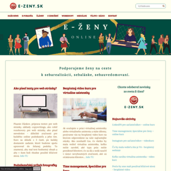 E-zeny.sk thumbnail