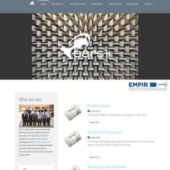 Ears-project.eu thumbnail