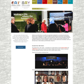 Earsay.org thumbnail