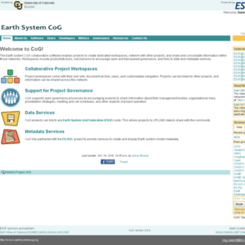 Earthsystemcog.org thumbnail
