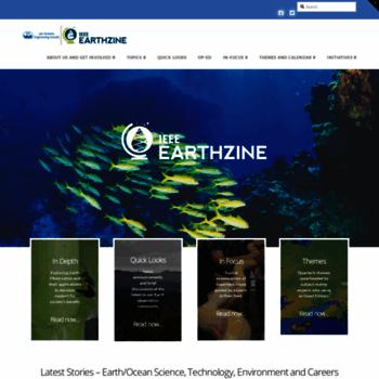 Earthzine.org thumbnail
