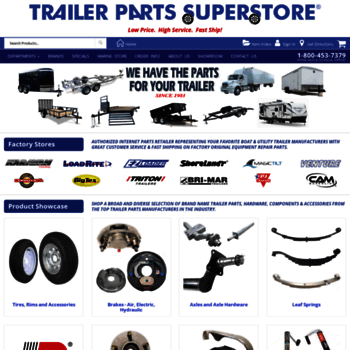 Easternmarine Com At Wi Trailer Parts Superstore
