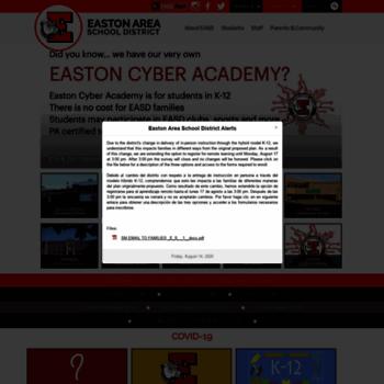 Eastonsd.org thumbnail