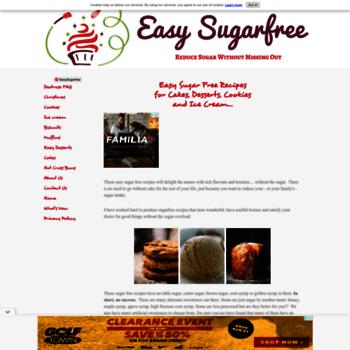Easy-sugarfree.com thumbnail