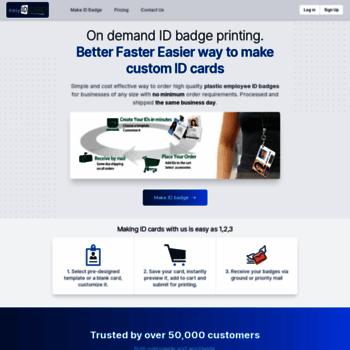 easyidcard com at wi online id badge maker get custom photo id