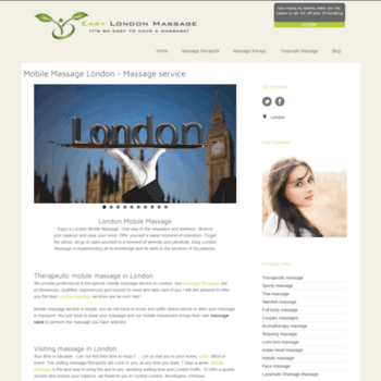 Easylondonmassage.co.uk thumbnail