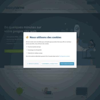 1643630b1c5173 easyname.fr at WI. Hébergeur web   easyname