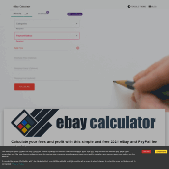 Ebaycalculator.co.uk thumbnail