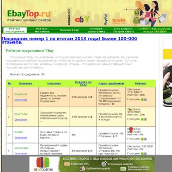 Ebaytop.ru thumbnail