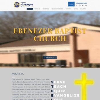 Ebcvaworship.org thumbnail
