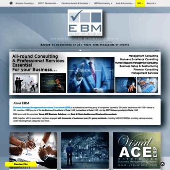 Ebm-international.com thumbnail
