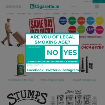 Ecigarette.ie thumbnail