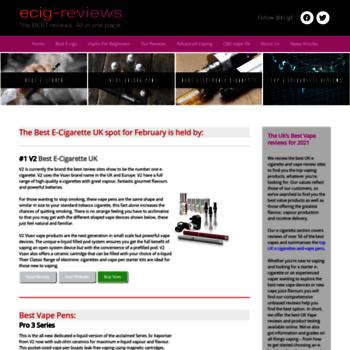 Ecigreviewsite.co.uk thumbnail