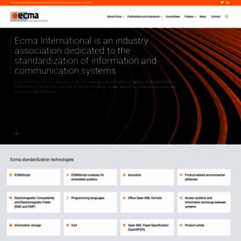Ecma-international.org thumbnail