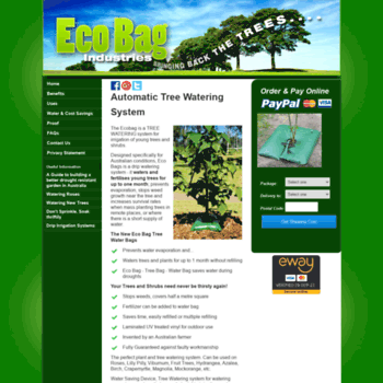 Ecobagindustries Au At Wi Automatic Tree Watering