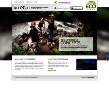 Ecofarms.co.in thumbnail