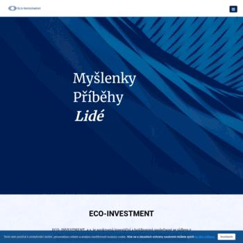 Ecoinvestment.cz thumbnail