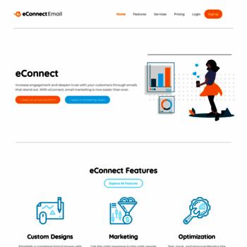 Econnectemail.com thumbnail