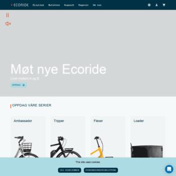 Ecoride.no thumbnail
