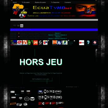 Ecuatvhd.net thumbnail