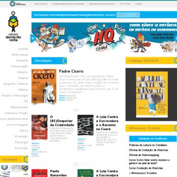 Edicoesdemocritorocha.com.br thumbnail