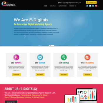 edigitalsmarketing com at WI  Digital Marketing Agency in USA