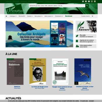 Editions-harmattan.fr thumbnail