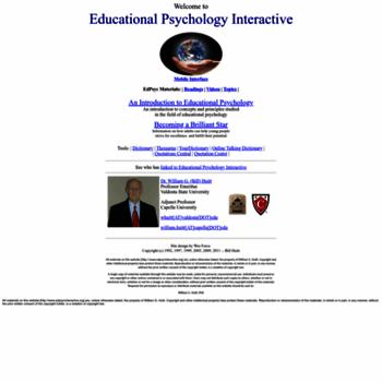 Edpsycinteractive.org thumbnail