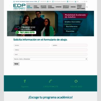 Edpuniversity.edu thumbnail