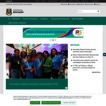 Educacao.rs.gov.br thumbnail