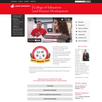Education.lamar.edu thumbnail