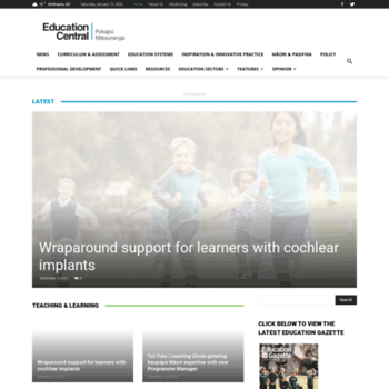 Educationcentral.co.nz thumbnail