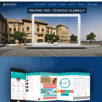 edunext1 com at WI  School Management Software - School