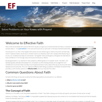 Effectivefaith.co.uk thumbnail