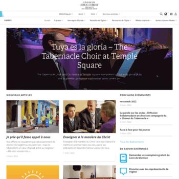 Eglisedejesuschrist.fr thumbnail