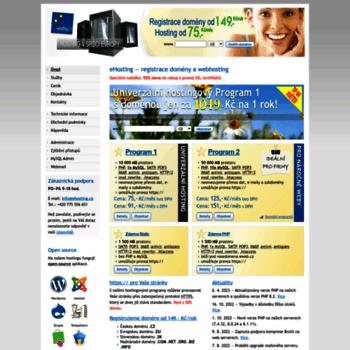 Ehosting.cz thumbnail
