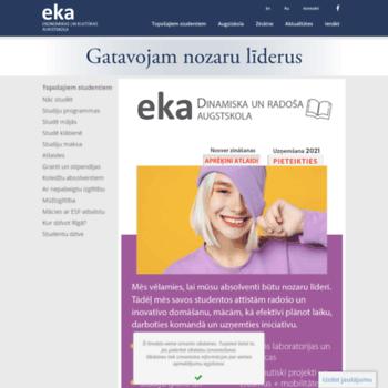 Eka.edu.lv thumbnail