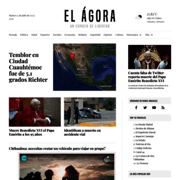 Elagoracommx At Website Informer El ágora Visit El Agora