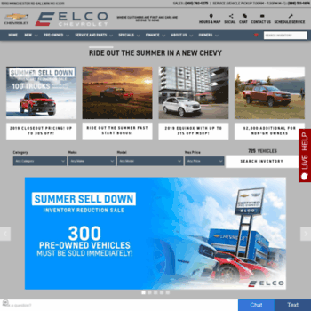 Elcochevrolet Com At Wi Elco Chevrolet In Ballwin A St