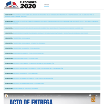 Elecciones2020.do thumbnail
