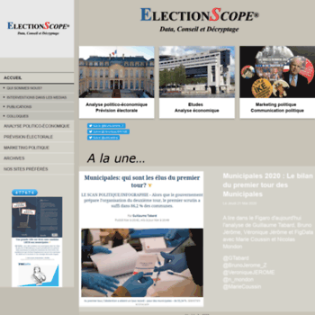 Electionscope.fr thumbnail