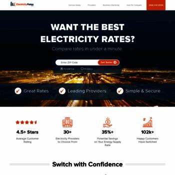 Electricityrates.com thumbnail