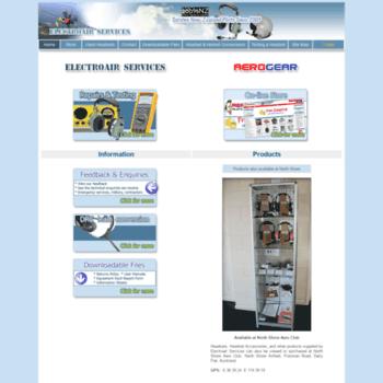 Electroair.co.nz thumbnail
